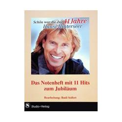 Hansi Hinterseer -Schön war die Zeit 11 Jahre.