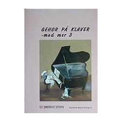 GEHØR PÅ KLAVER 3