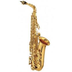 Yamaha YAS-475 Alt-Saxofon - m/etui - m/tilbehør - m/stativ