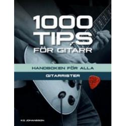 1000 Tips för Gitar