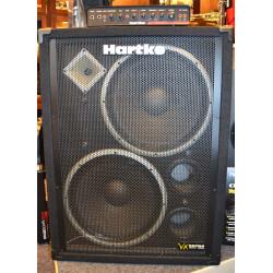Hartke TX600 basforstærker top + VX215 baskabinet