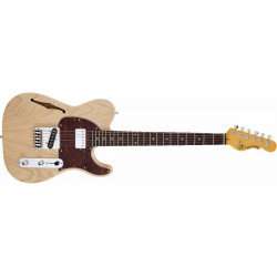 G&L Asat Classic Semi Hollow Blone m/etui