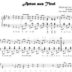 Anton aus Tirol - Noder