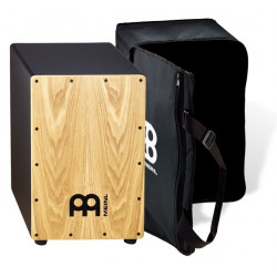 Meinl Black Cajon Ash med Bag - MCAJ100BK-AS+Bag