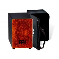 Meinl Black Cajon Caphor med Bag - MCAJ100BK-CC+Bag