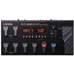 Boss GT-100 Professionel Guitar Multieffektprocessor.