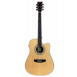 Santana LA90CW MG30EQ  Western guitar