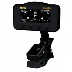 Korg AW-3M Dolcetto  Clip-On Tuner/ Metronome Chromatic til Blæseinstrumenter & Strengeinstrumenter