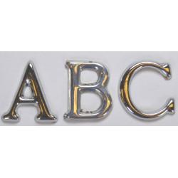 Løse bogstaver forkromet