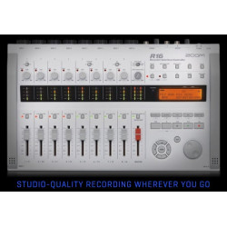 ZOOM R16, Recorder : Interface : Controller