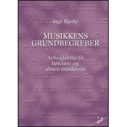 Musikkens Grundbegreber - Inge Bjarke