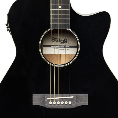Stagg SA35ACE BK