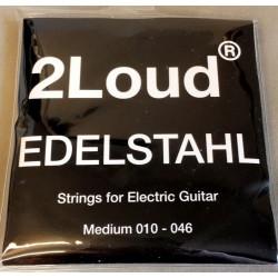 2Loud Edelstahl Elguitarstrenge