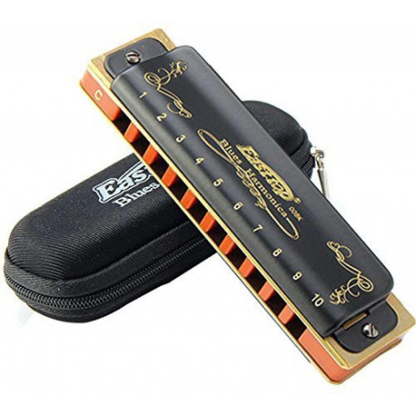 Easttop Blues harmonica - T008K