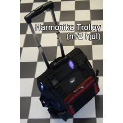 Harmonika Trolly m/2 hjul