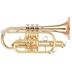 YCR-4330, Bb semi-prof. gold Brass